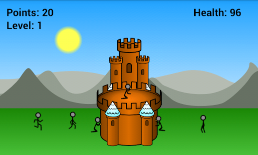 Defend your Gingerbread Castle
