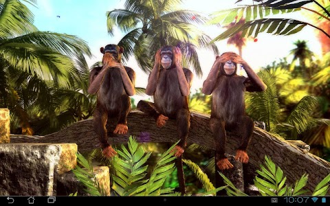 Three Wise Monkeys 3D v1.1