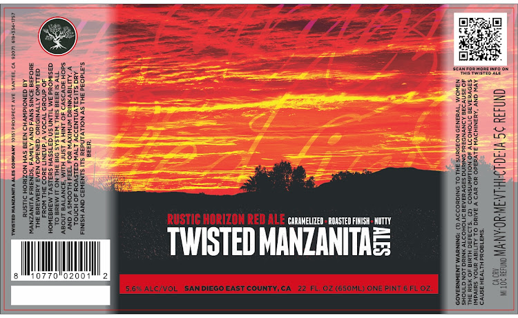 Logo of Manzanita Rustic Horizon Red