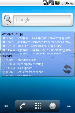 Agenda Messenger - screenshot