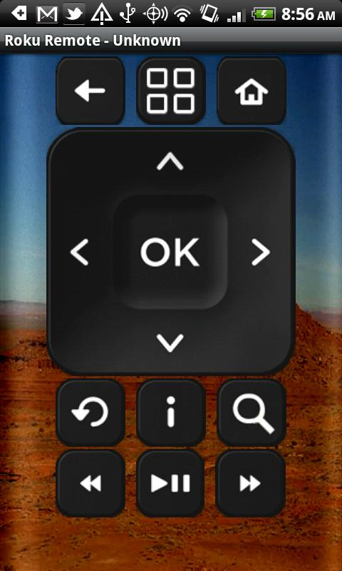 Remote for Roku - screenshot