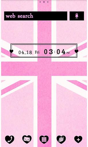 Cute Theme-Pink Union Jack- 1.1 Windows u7528 1