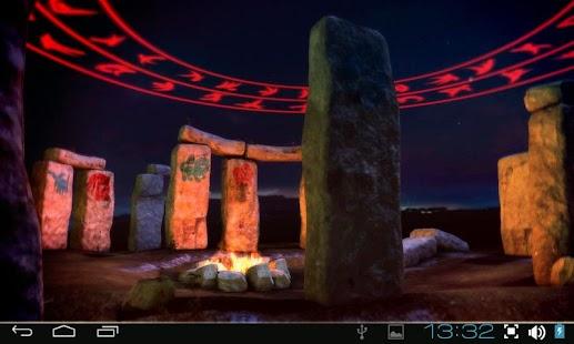 3D Stonehenge Pro lwp Screenshot