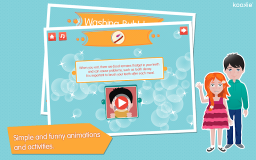 【免費教育App】kookie - Washing Bubbles-APP點子
