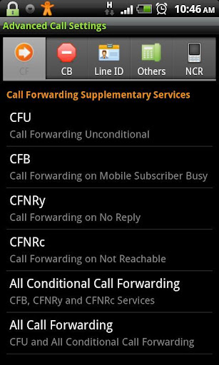 Advanced Call Settings+