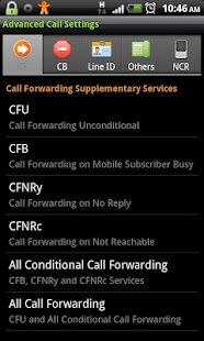 Advanced Call Settings+- screenshot thumbnail