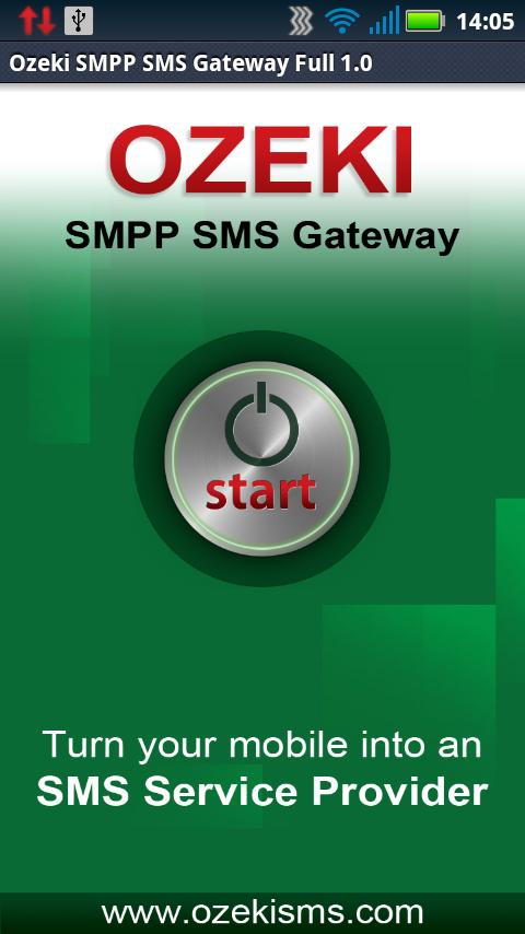 Ozeki SMPP SMS Gateway Full- screenshot