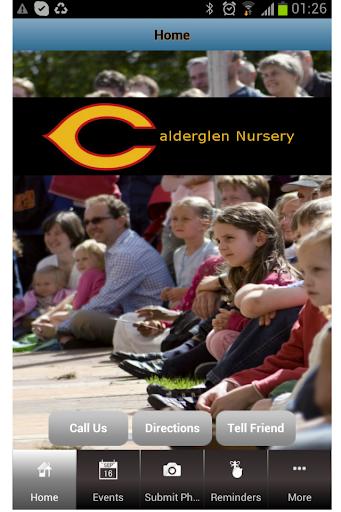 Calderglen Nursery App