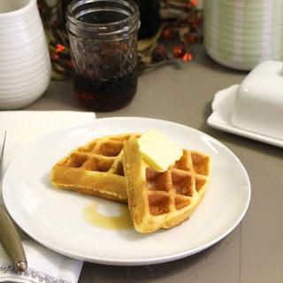 Fluffy Coconut Flour Waffles (Nut-Free, Sugar-Free).