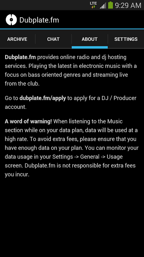 Dubplate.fm- screenshot