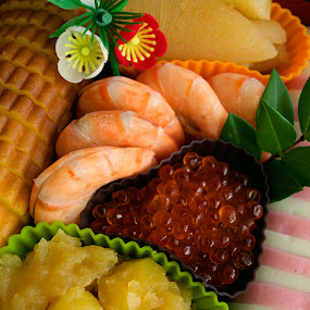 Osechi 2 2014 New Years by Bill      (THECREOS) Davis - Food & Drink Plated Food ( osechi, 2014, food, japanese, new years,  )