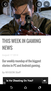NVISION News App for Android- screenshot thumbnail