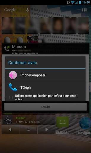 Phone Composer DTMF