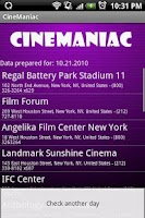 Screenshot of CineManiac