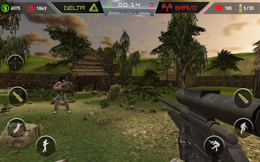 【免費動作App】Fire at Will - Online FPS-APP點子