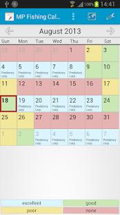 MP Рибальський Календар Pro Screenshot