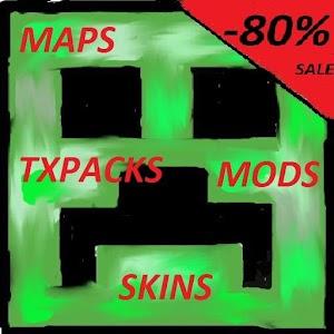 MineC Mods Maps Txt Skins plus 冒險 App Store-愛順發玩APP