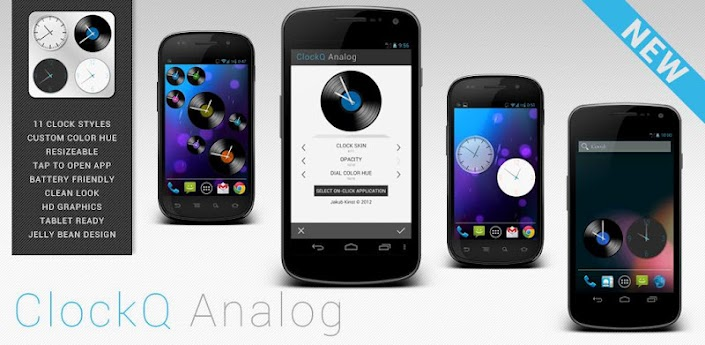ClockQ Analog - clock widget apk
