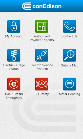 My conEdison Screenshot