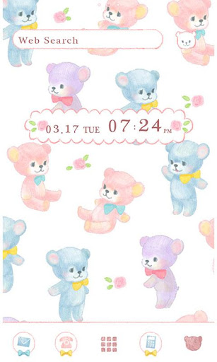 icon wallpaper-Teddy Bears-