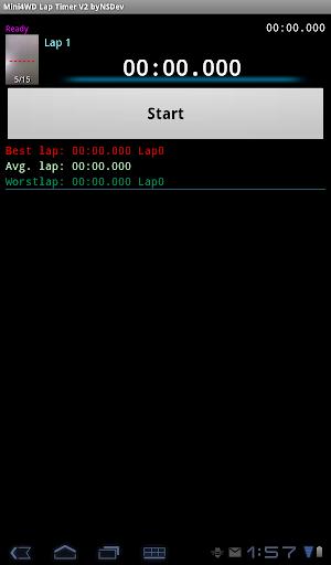 Mini4WD Lap Timer V2 byNSDev 1.2.3 Windows u7528 4
