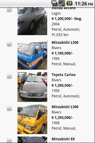 Cheki.com.ng Cheki Nigeria - screenshot