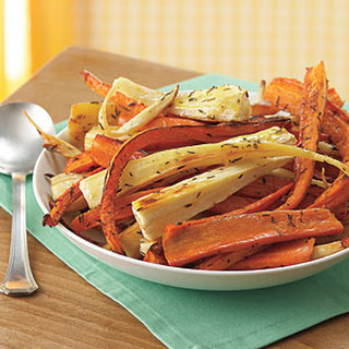 Roasted Carrots and Parsnips.