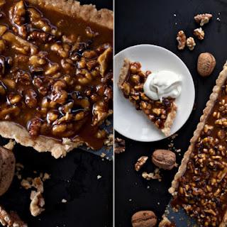 Caramel Walnut Tart Recipe