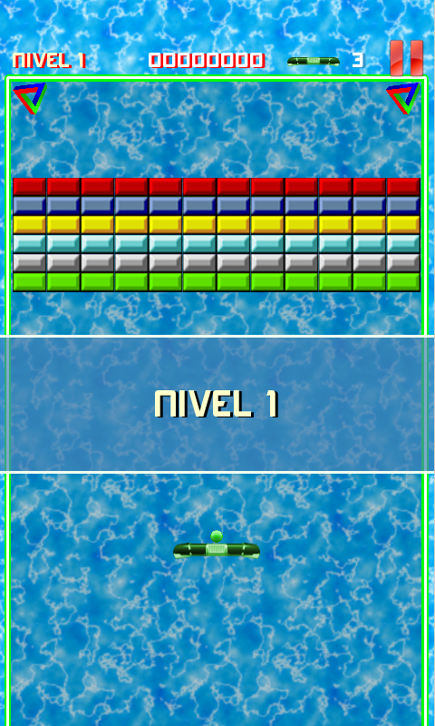 Arkamania (Arkanoid Clone) - screenshot