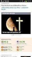 Screenshot of Svenska Dagbladet