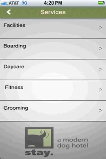 【免費商業App】Stay. a modern dog hotel-APP點子