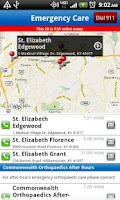 Screenshot of St. Elizabeth Healthcare