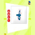 كتابة الحروف الهجائية icon