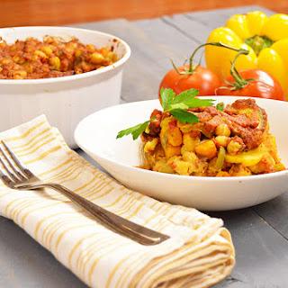 Moroccan Polenta Casserole