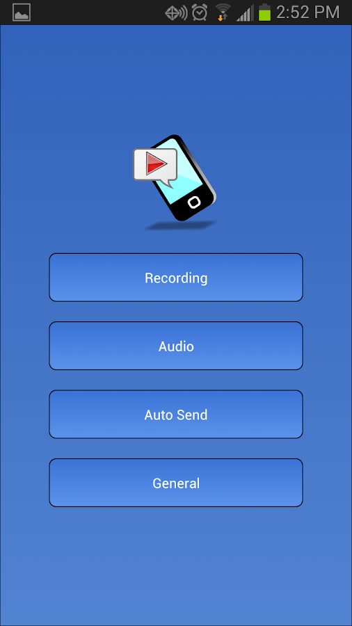 Galaxy S3 / S4 Call Recorder - screenshot