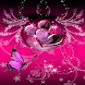 Butterfly Hearts Live Wallpape