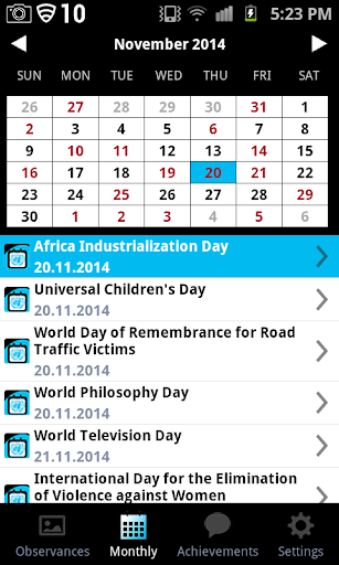 玩教育App|UN Calendar of Observances免費|APP試玩