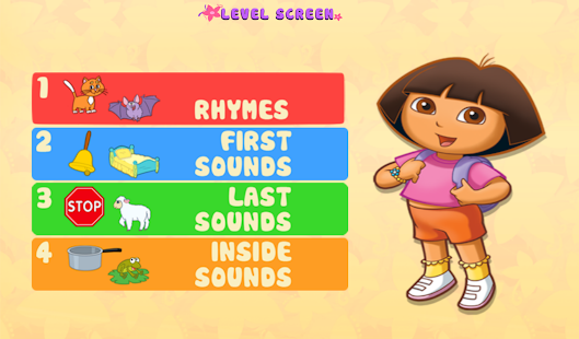 Dora ABCs Vol 2: Rhyming - screenshot thumbnail