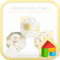 Yellow dodol launcher theme icon