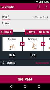 Runtastic Butt Trainer Workout Screenshot 1