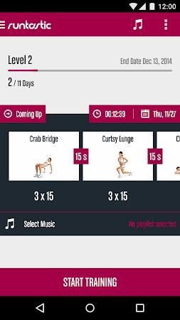 Runtastic Butt Trainer Workout 1.3 screenshot 31832