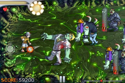 Pro Zombie Soccer Demo screenshot #3