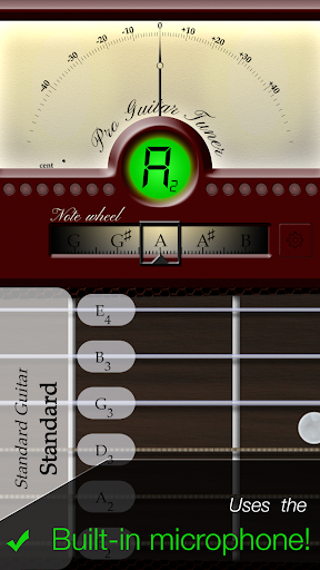 Pro Guitar Tuner 2.2.7 screenshots 1