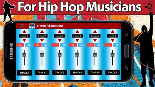 Dj Mixer Hip Hop Music