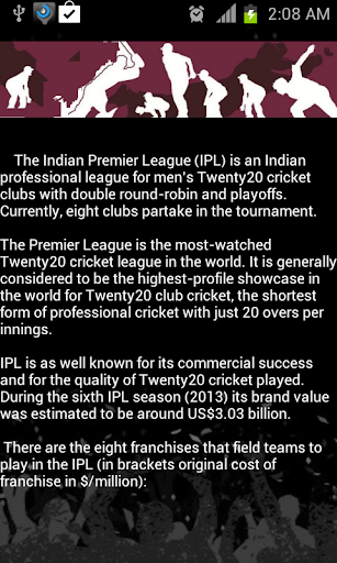 All about IPL 2014