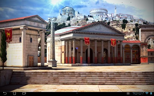 Rome 3D Live Wallpaper Screenshot