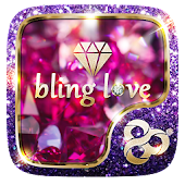 Bling Love GO Launcher Theme