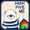Puchi(High Five Me) 도돌런처 테마 icon