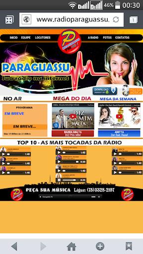 PARAGUASSU WEB