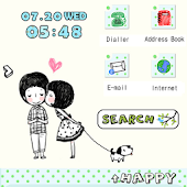 CUKI Theme Simple Kiss Couple
